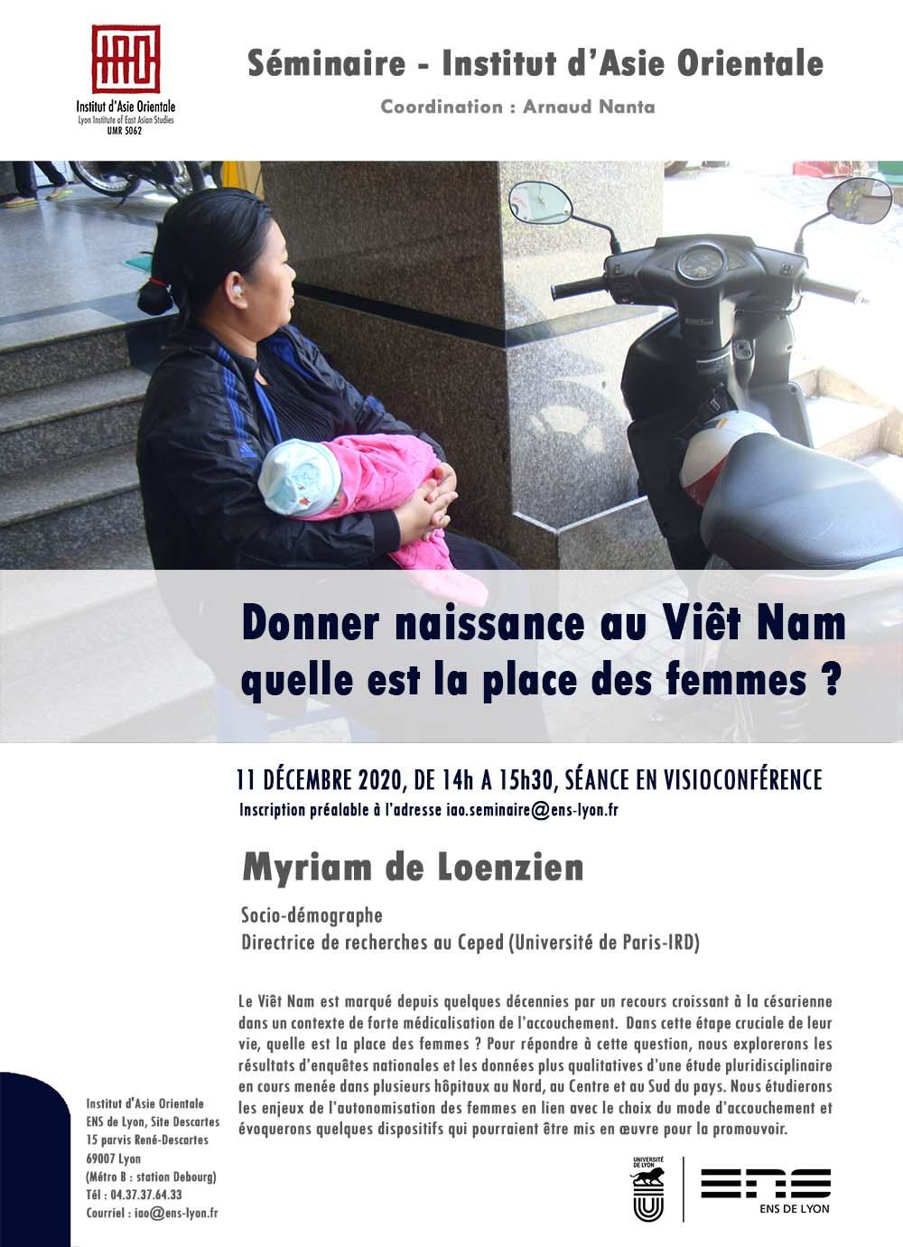 Séminaire de Myriam de Loenzien