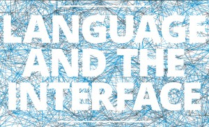 language and the interface_cover