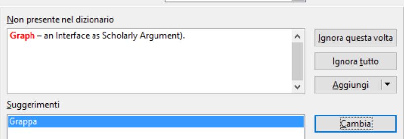 Open Office - Correzione automatica - Attenzione alla lingua!