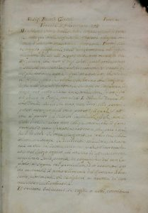 manoscritto di passano