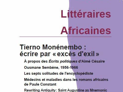 Tierno Monénembo: écrire par «excès d'exil». ELA 49 (2020)
