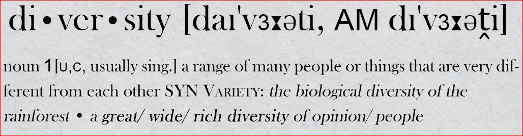 Diversity (photo: Julian von Mach)