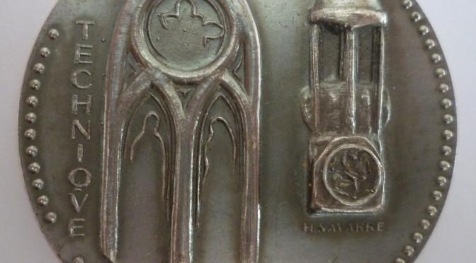 Les objets du service des monuments historiques : la médaille de J. Verrier