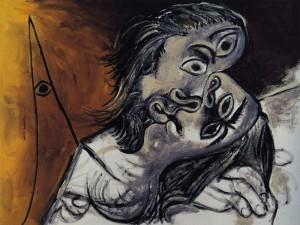Picasso_le-baiser-1969