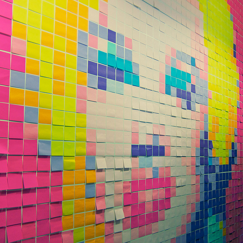 Crédits : Post-it Marilyn par Peter Hellberg sous licence CC BY-SA 2.0