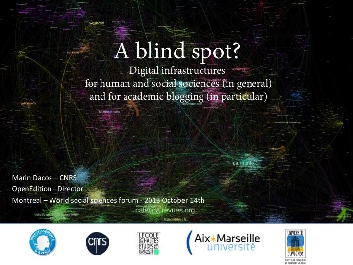 A blind spot ?