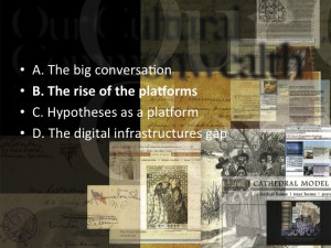 L'émergence des plateformes