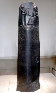 La Stèle d'Hammourabi, CC-BY 3.0.