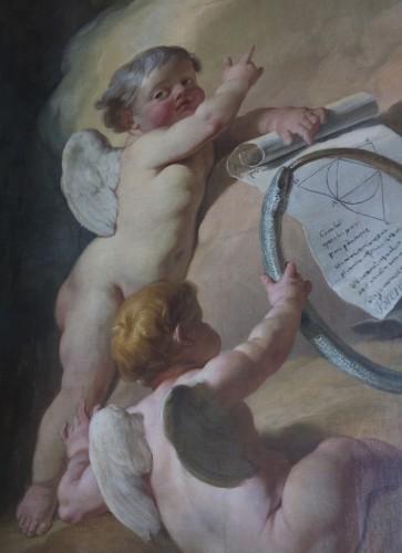 Fig. 3 Nicolas-Guy Brenet, Vérité, détail d'un putto, Parlement de Flandre, Douai, 1769, photographie Damien Langlet.