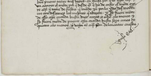 BnF, ms. esp. 218, fol. 10v (detalle)