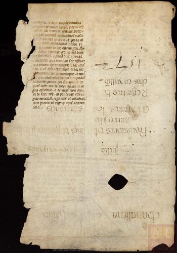 ARCHV, Pergaminos, carpeta 118, 2, (vuelto)