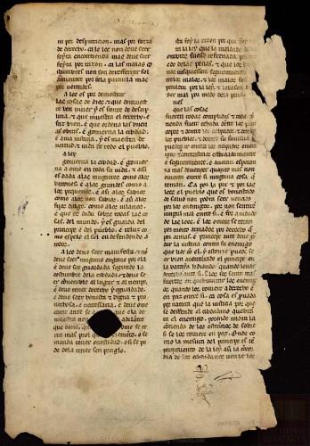 ARCHV, Pergaminos, carpeta 118, 2, (recto) © Ministerio de Cultura. Gobierno de España.