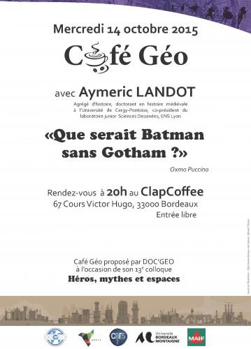 Flyer CaféGéo JG13