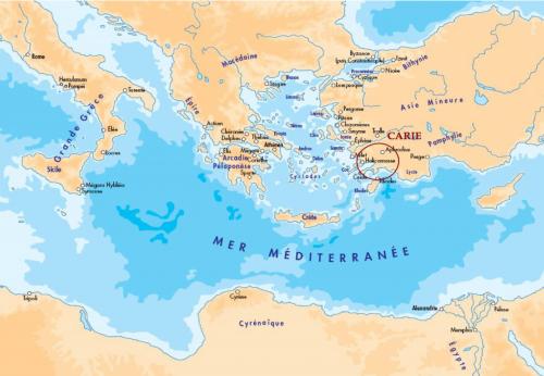 Figure 1 : Le monde grec à l'époque classique