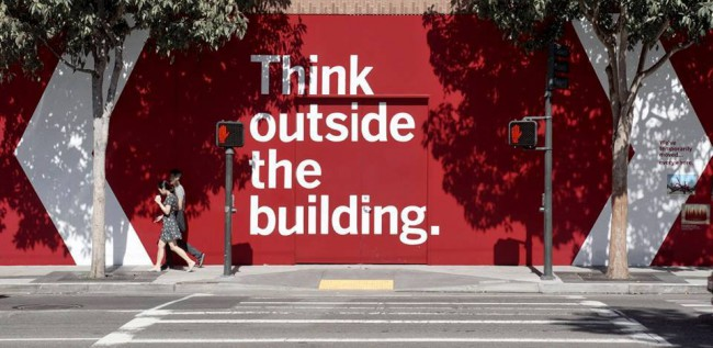 Think outside the building - San Francisco