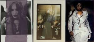Gauche : Collection Printemps-été 1989, centre : Collection automne-hiver 1989-1990, droite : collection printemps-été 1990 © Ronald Stoops