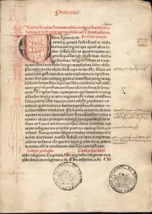 Valerius Maximus: Facta et dicta memorabilia. Mainz: Peter Schöffer, 14.VI.1471. 2°.