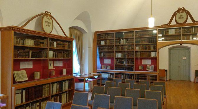 Grüße aus dem Lesesaal: Historische Bibliothek Rastatt