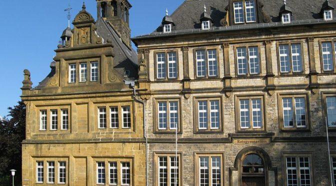 Im Film: die alte Bibliothek des Ratsgymnasiums Bielefeld