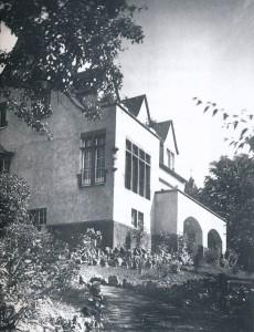 Das 1945 zerstörte Wohnhaus von Else Missong-Peerenboom an der Linzer Kaiserbergstraße (Foto: Archiv Jahn-Marx)
