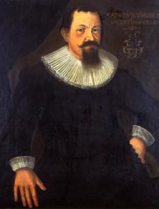Bürgermeister Augustin Kastenholz, 1628. Historisches Rathaus Linz