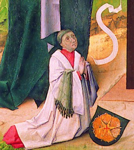 Marienaltar, Stifterbild (Johannes Ruysch?)