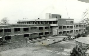 Neubau Altenheim, rückwärtige Ansicht