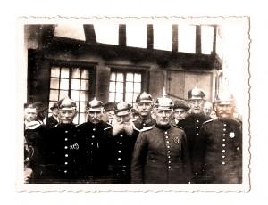 Mitglieder der Freiwilligen Feuerwehr Linz um 1900
