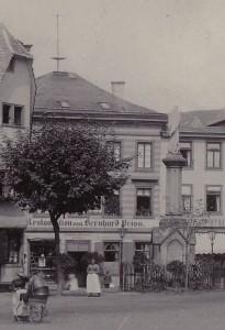 Haus Marktplatz 1, 1900