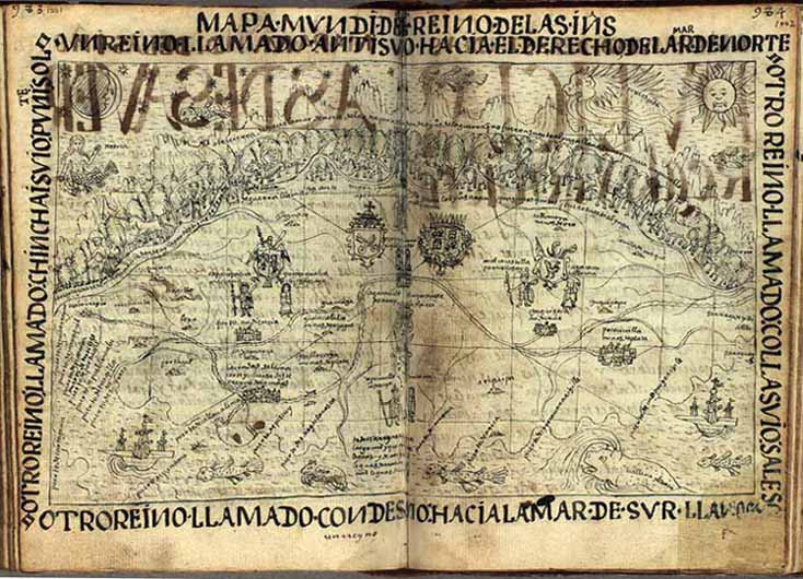 Mappa Mundi of the Indies of Peru