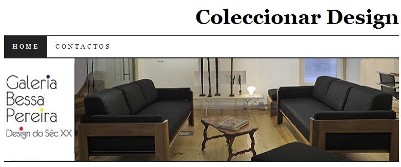 Blogue Coleccionar Design