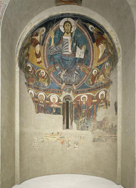 Abside de Sant Climent de Taüll no MNAC