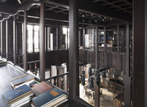 Biblioteca da Glasgow School of Art. Foto: Ben Blossom, s.d