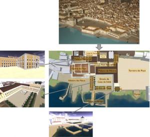 Projeto Lisboa antes do terramoto de 1755