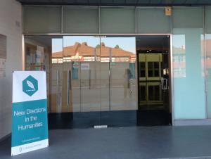 Entrada para o XII Congreso Internacional sobre Nuevas Tendencias en Humanidades. Madrid, Universidad San Pablo CEU Foto: Dália Guerreiro, 2014