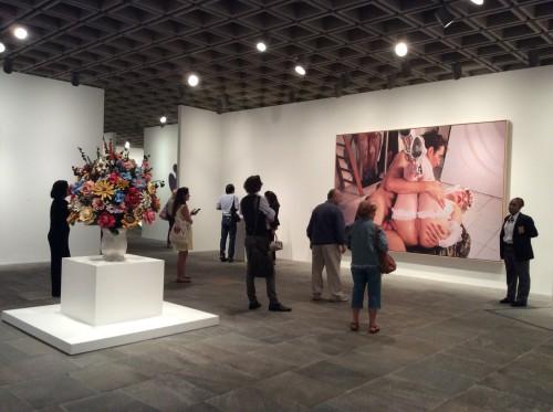 Exp. Jeff Koons: A retrospective. Foto: MIR, 2014.