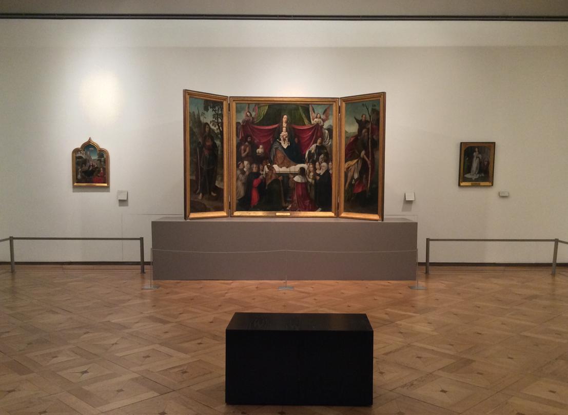 Sala de pintura religiosa Lisboa, Museu Nacional de Arte Antiga Foto: MIR, 2014