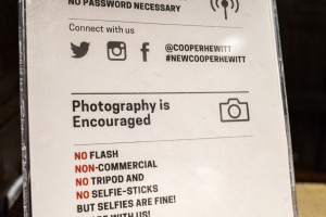 """No Selfie-Sticks"" but selfies Foto: shootbklyn, jan. 2015."