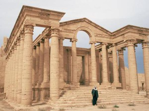 Templeo de Mrn, em Hatra, provavelmente destruído pelo ISIL. Foto: UNESCO World Heritage Site