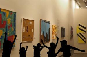 Museu de Arte Contemporânea: imagem processada sobre fotografia do