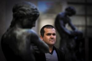 David Santos, no Museu do Chiado