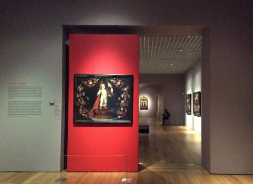 """Exposição """"Josefa de Óbidos"""": entrada Museu Nacional de Arte Antiga Foto: MIR, 2014"""