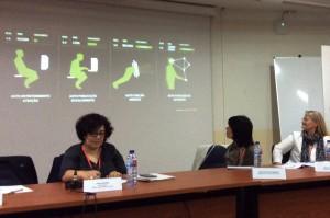 apresentação de Bruno Eiras e Miguel Mimoso Correia, na mesa moderada por Paula Simões. Foto: MIR, 2015