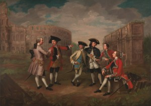 British gentlemen in Rome Katharine Read, ca.  1750 Yale Center for British Art, Paul Mellon Collection