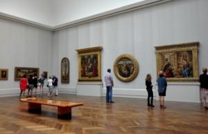 Sala da pintura italiana  Berlin, Staatlichen Museen, Gemäldegalerie Foto: MIR, 2012.