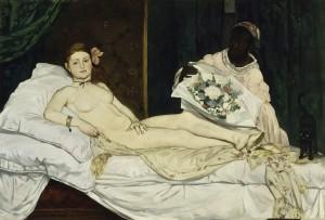 Olympia Edouard Manet, 1863 Paris, Musée d'Orsay