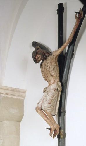 Cristo crucificado, dito Gabelkreuz Autor desconhecido, c. 1300 Colónia, Santa Maria do Capitólio