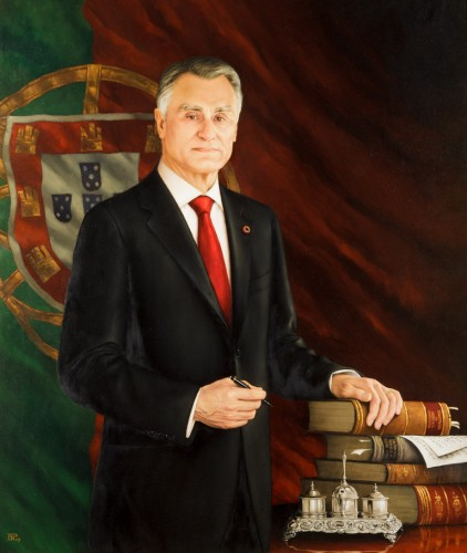 Retrato do Presidente Cavaco Silva Barahona Possolo, 2016
