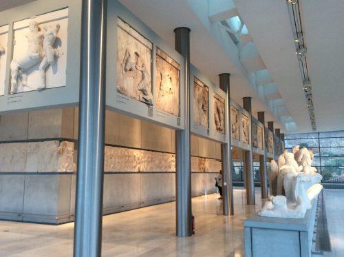 Mármores do Pártenon Atenas, Museu da Acrópole Foto: MIR, 2016
