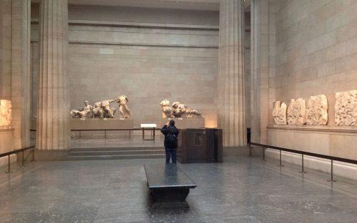 Frontão e métopas do Pártenon Duveen Gallery, British Museum Foto: David Gill, 2013